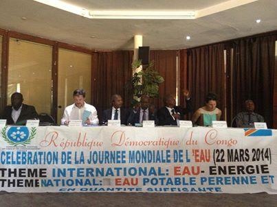 Célébration de la Journée Mondiale de l'Eau sous l'égide du CNAEA. Table ronde sur les enjeux de l'accessibilité à l'eau potable en milieu rural en RDC.