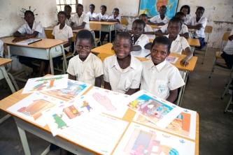 Ecole primaire, Classe de brigadiers, Luba, Manono, Tanganyika