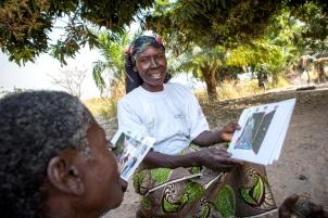 Recos, sensibilisation, Village Mande, Manono, Tanganyika
