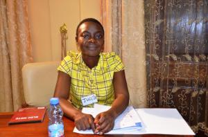 Judith Dilundua, Consultante à RDC Compétences et facilitatrice des travaux de groupe durant la Revue Technique