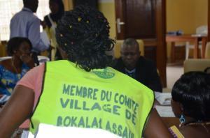 Nelly Matissa, Relais Communautaire à Bokala 1