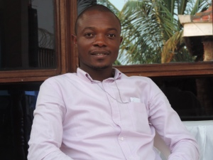 Joseph, chargé du Suivi et Evaluation à ACTED