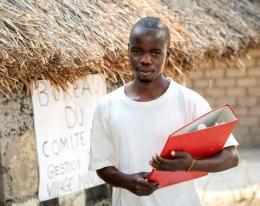 Comité de gestion d'eau, Erock Nsenga, Village Mande, Manono, Tanganyika